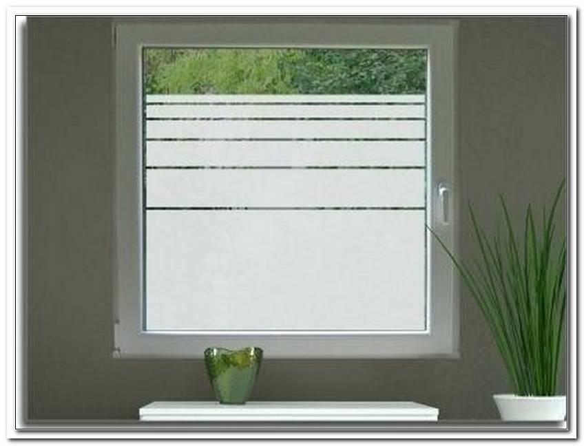 Fenster Blickdicht Machen