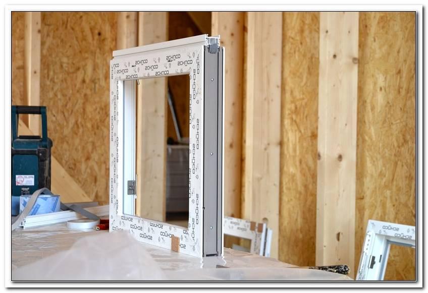 Fenster Einbauen Holzhaus