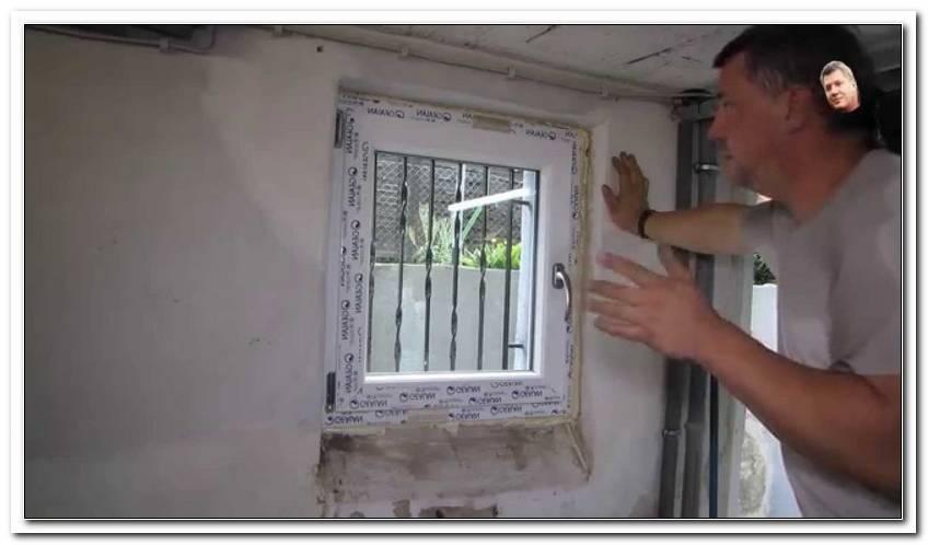 Fenster Einbauen Und Verputzen