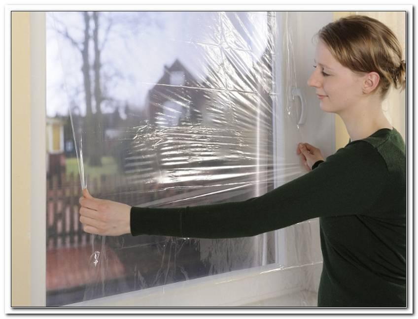 Fenster Einfachverglasung Isolieren