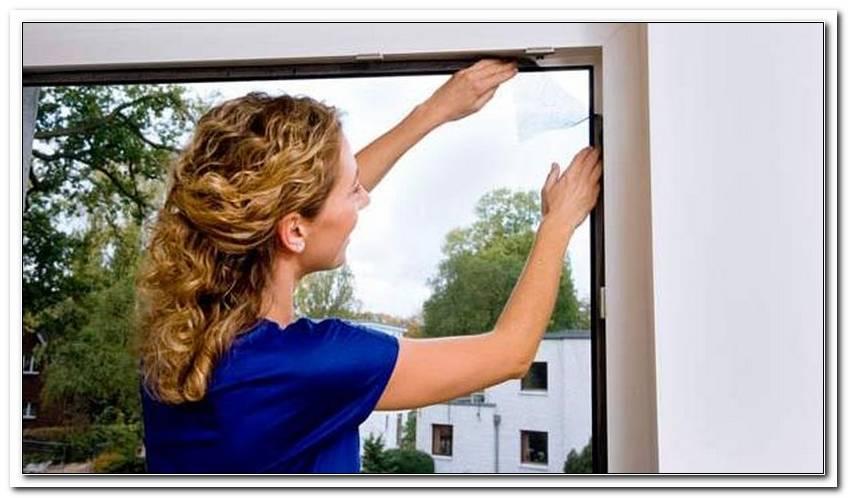 Fenster Fliegengitter Anbringen