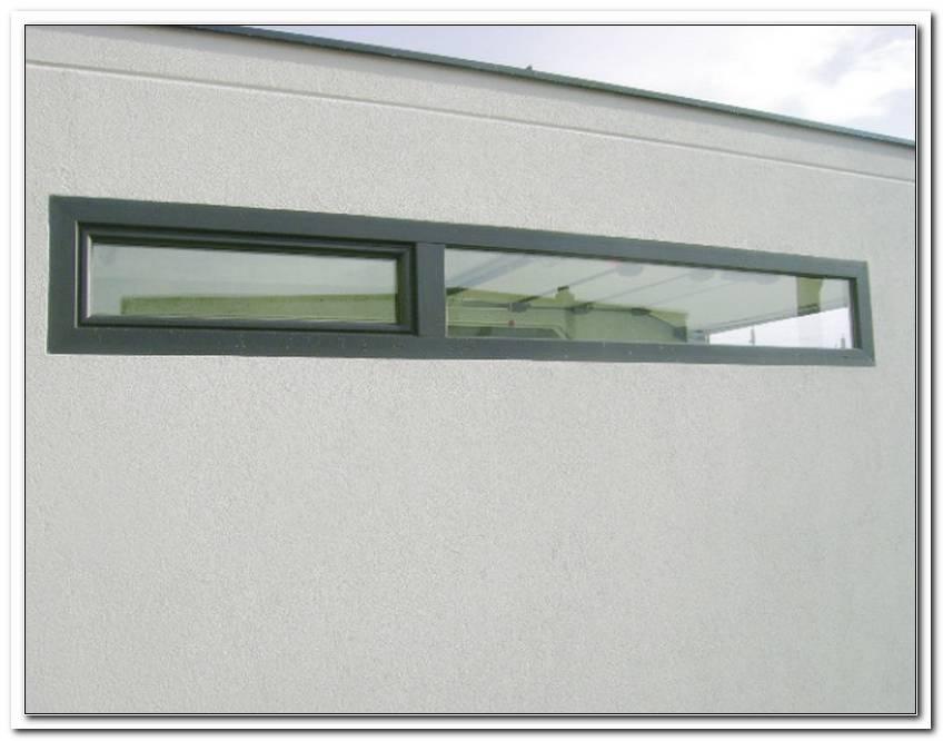 Fenster Lichtband Garage