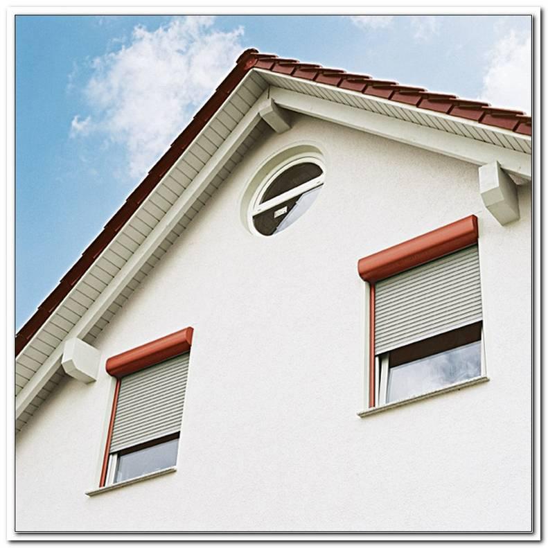 Fenster Mit Aufgesetztem Rolladenkasten
