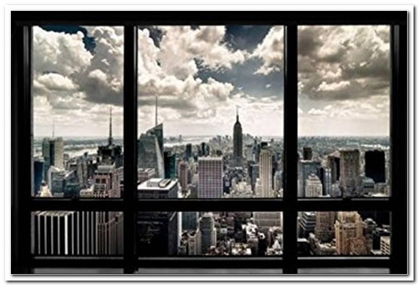 Fenster Mit Ausblick