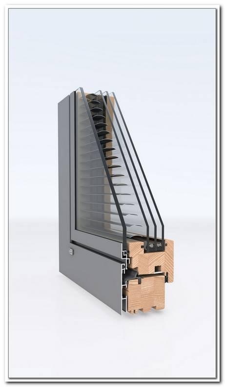 Fenster Mit Eingebauten Jalousien