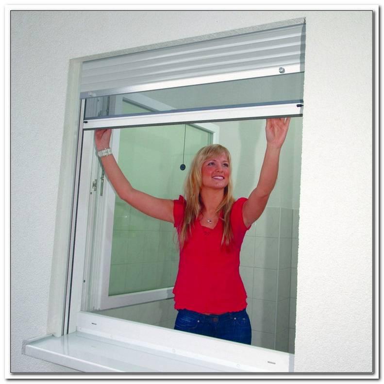 Fenster Mit Integriertem Fliegengitter