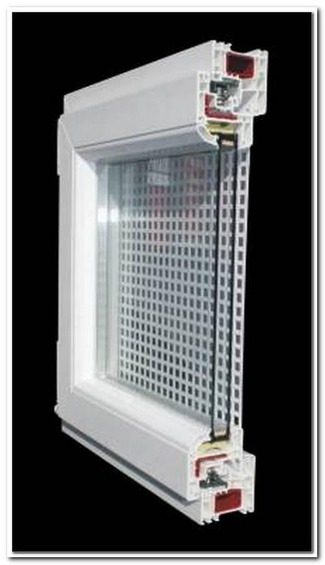 Fenster Mit Integriertem Gitter