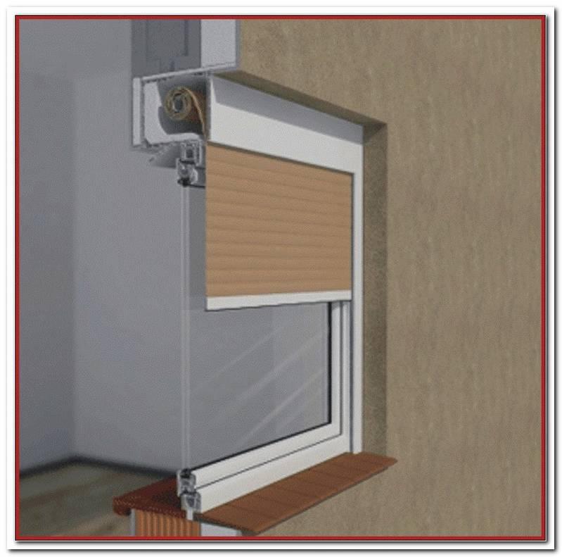 Fenster Mit Integriertem Rollladen