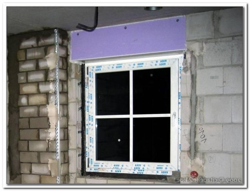 Fenster Mit Rolladenkasten