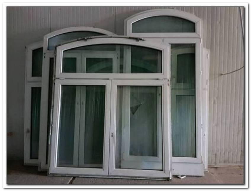 Fenster Mit Rundbogen Aus Kunststoff