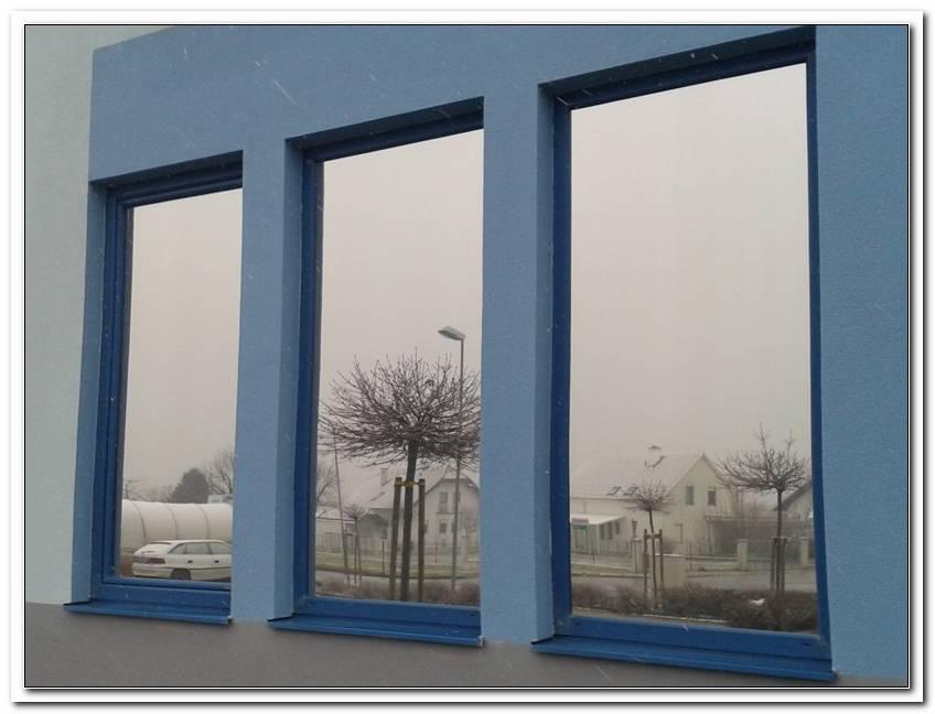 Fenster Mit Spiegelglas