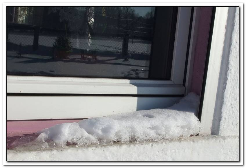 Fenster Putzen Bei Frost