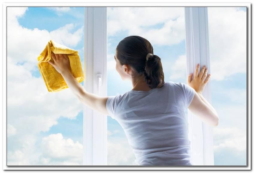 Fenster Putzen Wann