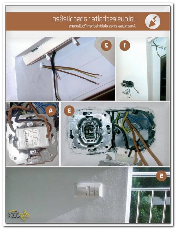 Fenster Rolladen Elektrisch Anschlie?En
