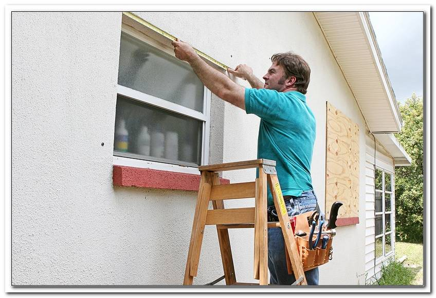 Fenster Rollos Au?En Reparieren
