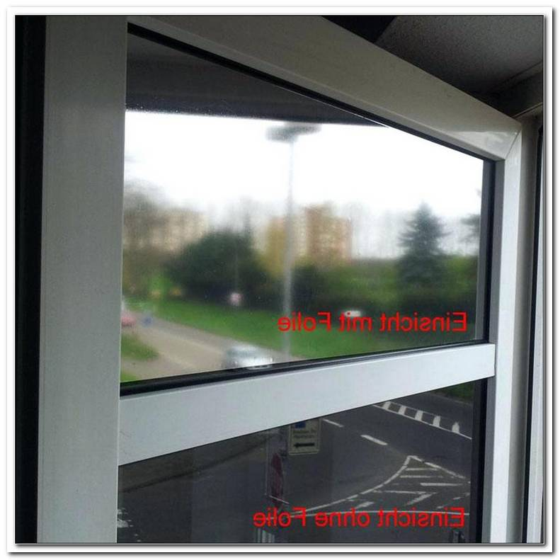 Fenster Verspiegeln Lassen