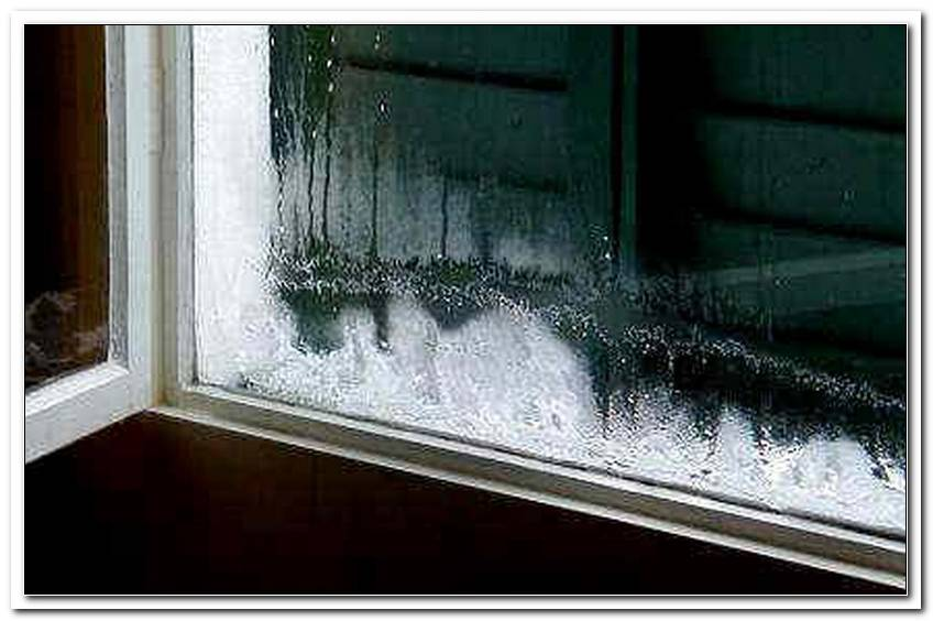 Fenster Von Innen Gefroren