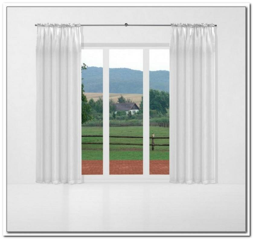 Fenster Vorhang Blickdicht