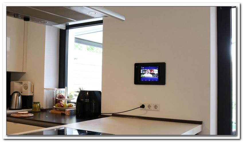 Fernseher K?Che Wand