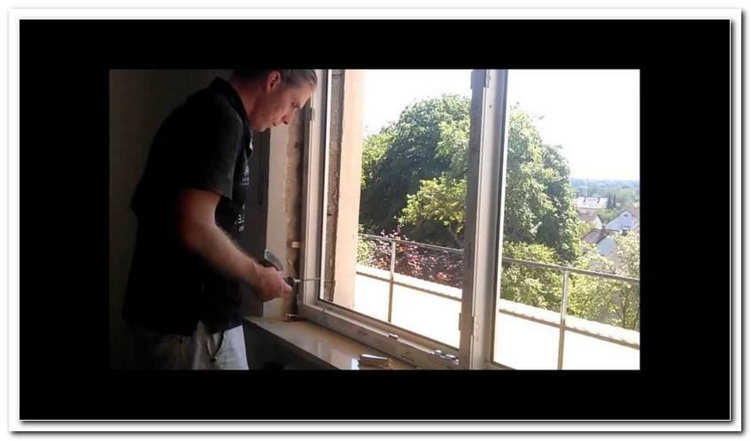 Feststehendes Fenster Einbauen