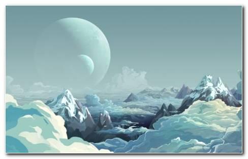 Fictional Places HD Wallpaper