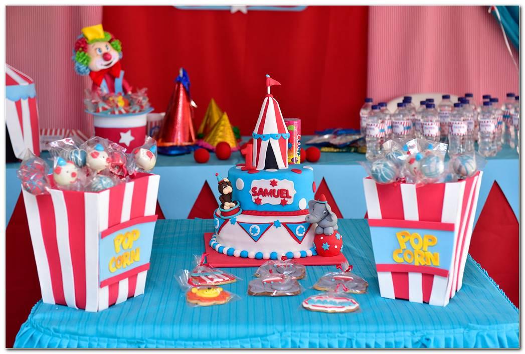 Fiesta De Circo Decoracion