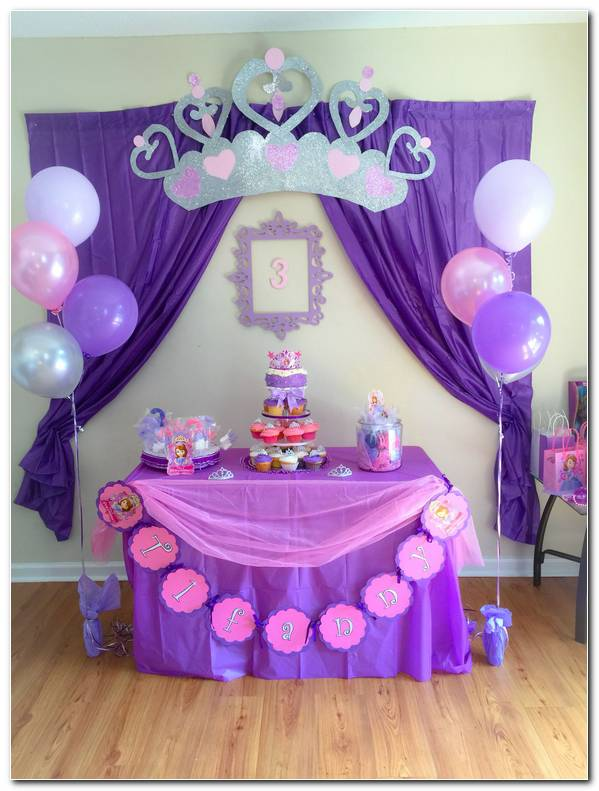 Fiesta De Princesas Decoracion