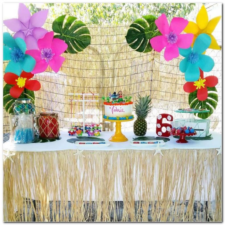 Fiesta Tematica Hawaiana Decoracion