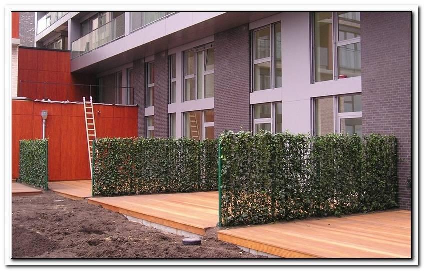 Flexibler Sichtschutz F?R Terrasse