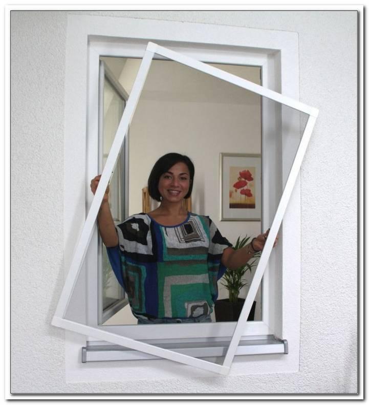 Fliegengitter Fenster Wei