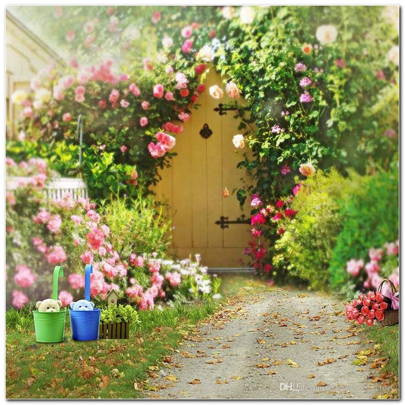 Flowers Garden Background