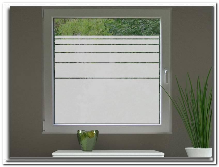 Folie Fenster Sichtschutz
