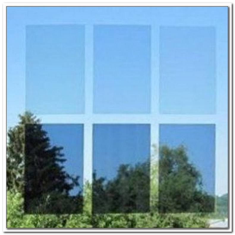 Folie Fenster Sonne