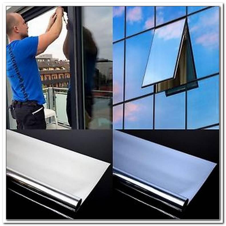 Folie Fenster Spiegel
