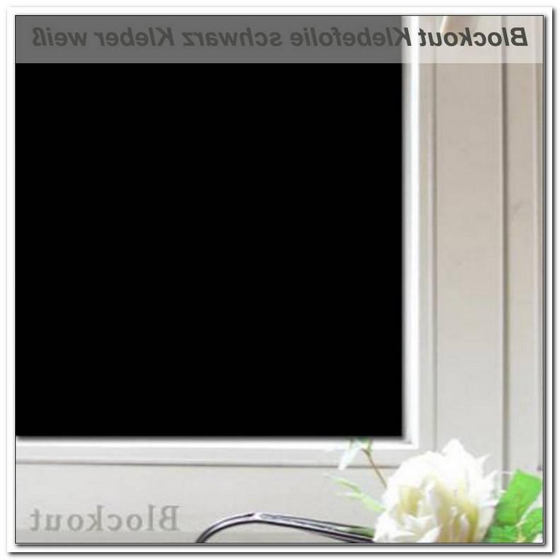 Folie Fenster Verdunkeln