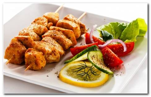 Food Chicken Kabab Hd Wallapper