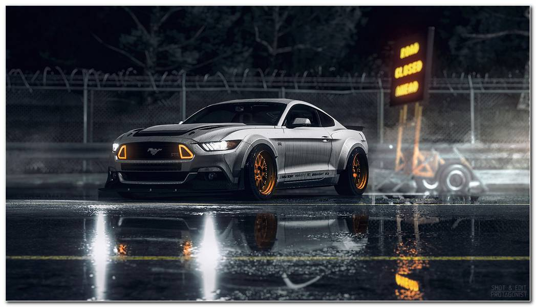 Ford Mustang Background
