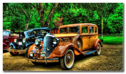 Ford Hot Rods HD Wallpaper