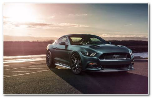 Ford Mustang 2018 HD Wallpaper