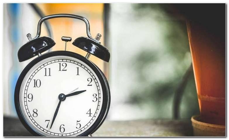 Formas De Restablecer Su Reloj Interno Cuando Esta Roto