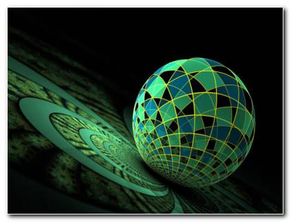 Fractal Sphere Wallpaper