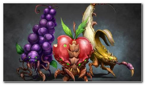 Fruit Monsters HD Wallpaper