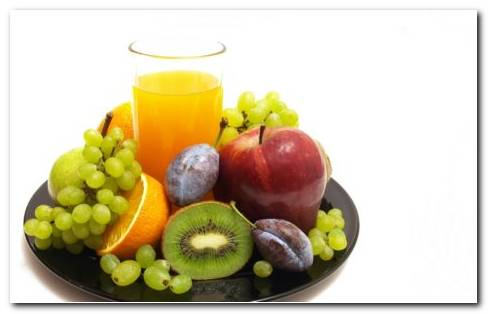Fruit Platter HD Wallpaper
