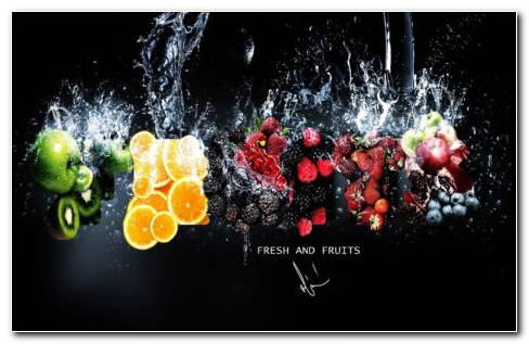 Fruits Refreshing HD Wallpaper