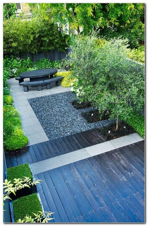 Fuentes Para Jardin Minimalista