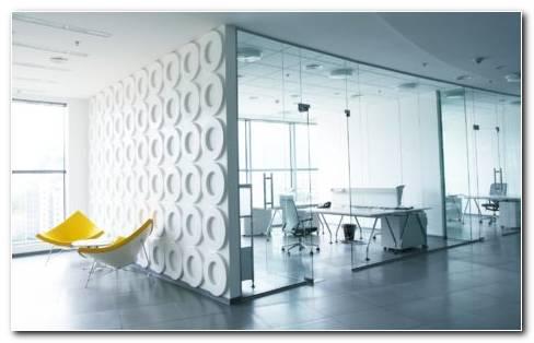 Full White Offices HD wallpaper