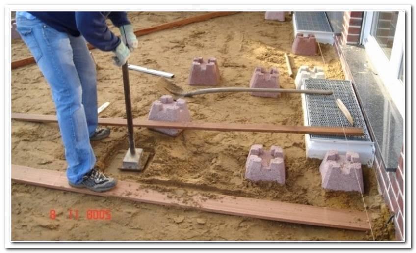Fundamentsteine F?R Terrassen 22cm X 22cm