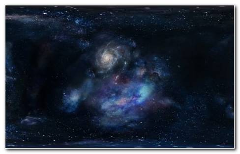 Galaxies And Stars HD Wallpaper