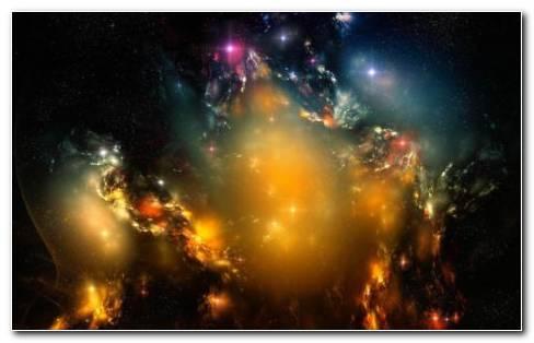 Galaxy Multi Color HD Wallpaper