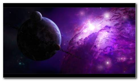 Galaxy Full With Darkness HD Wallpaper
